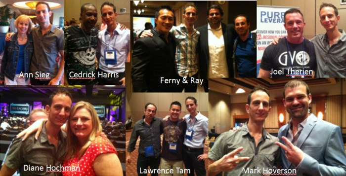Hezi & Adriano with industry leaders at No Excuses